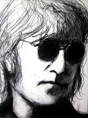 "John Lennon charcoal • <a style=""font-size:0.8em;"" href=""https://www.flickr.com/photos/78624443@N00/9758277391/"" target=""_blank"">View on Flickr</a>"