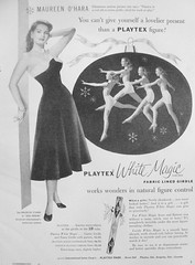 67 1953 (Undie-clared) Tags: girdle playtex fablined