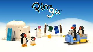 Pingu in LEGO