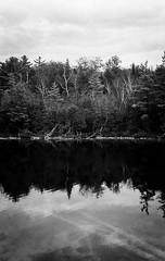 Sky, reflection and underwater. (Ko.Fe.) Tags: ltm film milton lieca summitar iif polypanf50
