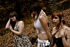 ...... (Princess_of_Ra) Tags: girls fall halloween nature forest dark see becca blood jamie no models evil gilbert speak sinclair aynsley chenoweth gothis lencioni