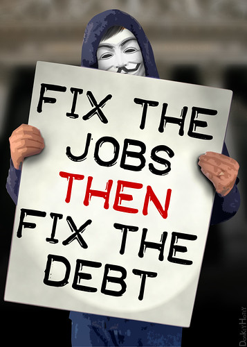 Fix The Jobs THEN Fix The Debt