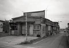 Wakinosawa, Shimokita peninsula, Aomori, Japan (View Master 187) Tags: japan zeiss self 35mm t slim kodak tmax 14 developer 400 carl aomori kyocera developed yashica t4 shimokita f35 tessar 24c 6min