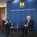 An evening with The Honorable Dr. Henry Kissinger and The Honrable Paul H. O'Neill, a Ford Centennial event