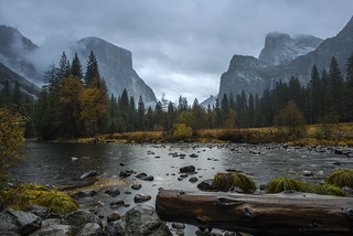 Wet and Wild Day in Yosemite