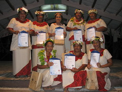 APTC graduation, Tuvulu, 2011. Photo: AusAID