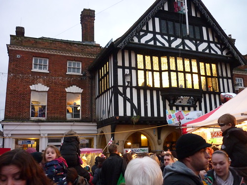 Saffron Walden Christmas Lights 2013
