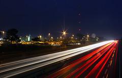 401 (mjaneroy) Tags: road longexposure light lightpainting cars night lights highway slowshutter lighttrails