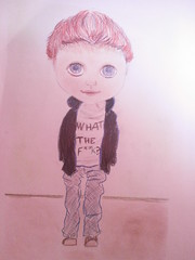 Joel para Rina <3 (Naomi =^__^=) Tags: boy blythe dibujo