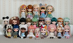 ~ My current Blythe family ~