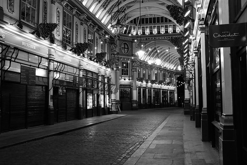 Sunday night @ Leadenhall market ©  Still ePsiLoN