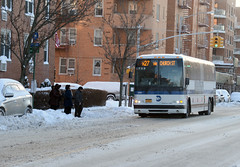 MTA New York City Transit - After the Snow (MTAPhotos) Tags: usa snow ny storm buses brooklyn snowstorm newyorkcitytransit