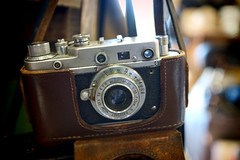 - a Zorkij camera (Steve Holsonback) Tags: sony union soviet alpha russian a77   zorkij