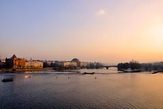 Prague*** (jackie bernelas) Tags: eau prague pont ville coucherdesoleil républiquetchèque vieilleville mygearandme mygearandmepremium mygearandmebronze mygearandmesilver blinkagain