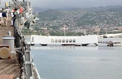 Pearl Harbor - USS Missouri (t i g) Tags: vacation hawaii oahu pearlharbor battleship ussmissouri