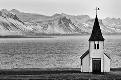 Iceland (a.penny) Tags: hellnar iceland church island nikon d300 tamron 70300 mm apenny kirkja kirche küste coast hellnakirkja