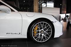 Those Ceramics! (MJParker1804) Tags: new yellow ceramic 911 s turbo porsche brakes carbon 991 2014 pccb calipers