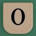 Line Word black letter O