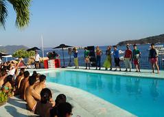 Desfile de modas 11 Festival Frances, Hotel Boca Chica Acapulco