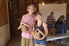 "Happy Bicycle-Riding, Beehouse-Building Couple <a style=""margin-left:10px; font-size:0.8em;"" href=""http://www.flickr.com/photos/91915217@N00/13810999105/"" target=""_blank"">@flickr</a>"