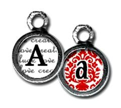 CW10A - a (ToadHollowNJ) Tags: pickupsticks initials redbanknj toadhollow photocharms toadhollownjcom