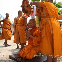 Summer school in temple Wat Luang (17) (tGENTeneeRke along the Mekong river) Tags: thailand buddhism isaan mekongriver provnongkhai districtphonphisai tgenteneerkealongthemekong2014 summerschoolintemplewatluang2014