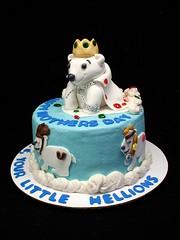 Polar Bear Cake (SweetlyWild) Tags: ohio cake polarbear birthdaycake milford sweetlywild