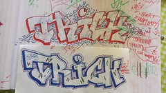 20140515_173702_Richtone(HDR) (Trick One) Tags: streetart art paper underground graffiti sketch 3d montana drawing letters romania drips trick oink grog nrk trik ploiesti molotow handstyle krink trickone
