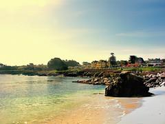 Lovers Point Beach, Pacific Grove Ca (Joe Lach) Tags: california beach monterey sand rocks pacificocean pacificgrove peninsula loverspoint loverspointbeach westcoastbeachsunrise joelach