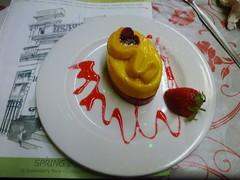 Frisson! (helenoftheways) Tags: uk food london strawberry greenwich desserts delicious raspberry sorbet frisson sanmiguelrestaurant