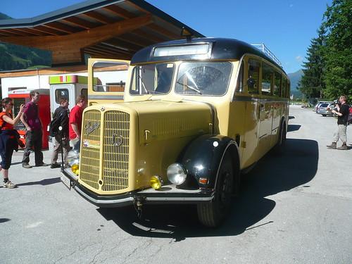 Saurier der Straße: Saurer-Postbus PT 38005