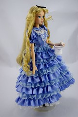 Limited Edition Alice in Wonderland 17'' Doll - Disney Store - eBay Purchase - Deboxed - Full Left Front View (drj1828) Tags: standing us doll alice limitededition disneystore aliceinwonderland 17inch 2011 deboxed