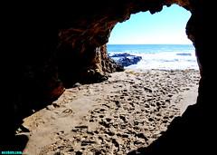 JustWakeUpBeforeHighTide (mcshots) Tags: ocean california travel winter light sea usa beach nature water coast sand rocks arch stock erosion caves socal cave mcshots cavern rockformations spelunking losangelescounty