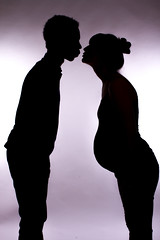 Parents to be (charenty) Tags: silhouette studio pregnant lovers maternity