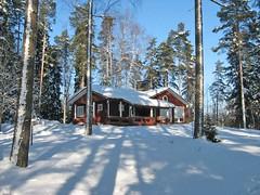 Puumerkki Cottage Winter