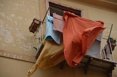 wind (Hayashina) Tags: italia colours wind balcony sorrento washing