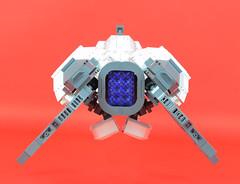 Belial Rear (Cuahchic) Tags: lego space bricks alien engine technic snot eveonline coolingfins foitsop