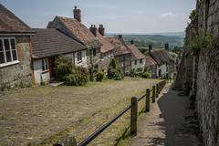 Gold Hill Shaftesbury (Stuart.67) Tags: gold nikon hill dorset quaint shaftesbury d800 cottages hovis thached