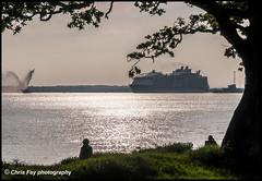 Harmony of the Seas (chrisfay55) Tags: royalcaribbeancruiselines cruiseship liner ship passenger poert southampton sailing southamptonwater voyage