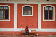 Pondicherry Streets (Ivon Murugesan) Tags: travel family trees people lighthouse reflection monument colors rain umbrella reflections walking cycling cyclists movement sitting chairs places rainy cycle childrens pondicherry heritagebuildings autorickshaw colourfull bicyclerickshaw frenchbuildings puducherry letsexplore gandhistatuepondicherry pondicherrystreets pondicherrypeople