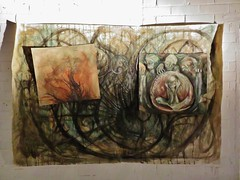DisorderLine Experience / Kerkstraat - 7 mei 2016 (Ferdinand 'Ferre' Feys) Tags: streetart graffiti belgium belgique belgië urbanart graff ghent gent gand graffitiart arteurbano artdelarue urbanarte