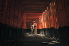 Fushimi Inari-taisha (TOONMAN_blchin) Tags:  fushimiinaritaisha   toonman