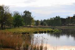 Gowno - zalew (Tova_) Tags: lake water clouds nikon outdoor poland d60 chmury landscepe gowno jazioro