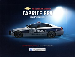 2011 Chevrolet Caprice PPV Police Patrol Vehicle (aldenjewell) Tags: chevrolet police vehicle brochure patrol caprice ppv 2011