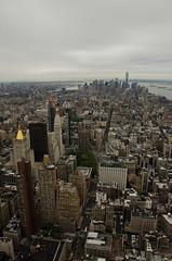Lower Manhatten, from Empire State. (Trident2828) Tags: usa newyork empirestate manhatten