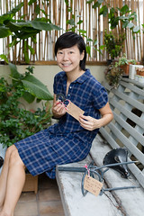 Bangkok, Thailand (Quench Your Eyes) Tags: travel thailand hostel asia southeastasia cyclist bangkok thai femalecyclist phranakhon biketourist watratchabophit grannybikebed cyclisthostel