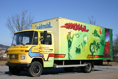 MB L 608D (Vehicle Tim) Tags: truck mercedes mb transporter fahrzeug lkw