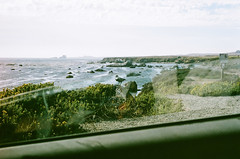 45530011 (danimyths) Tags: ocean california film beach water coast waterfront pacific roadtrip pch pacificocean westcoast pacificcoastalhighway filmphotography