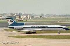 HA-LCA  Tu-15M  Malev (caz.caswell) Tags: heathrow lap hounslow airliner lhr tupolev trijet londonheathrow tu154 malev turbofan londonairport ttail rearengines halca 3xkuznetsovs