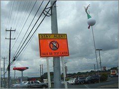 alertsign (miz bee) Tags: street sign mixture